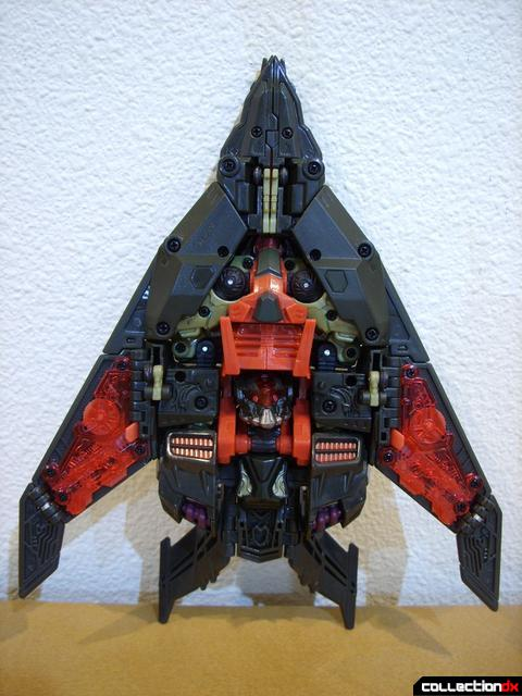 RotF Voyager-class Mindwipe- vehicle mode (ventral profile)