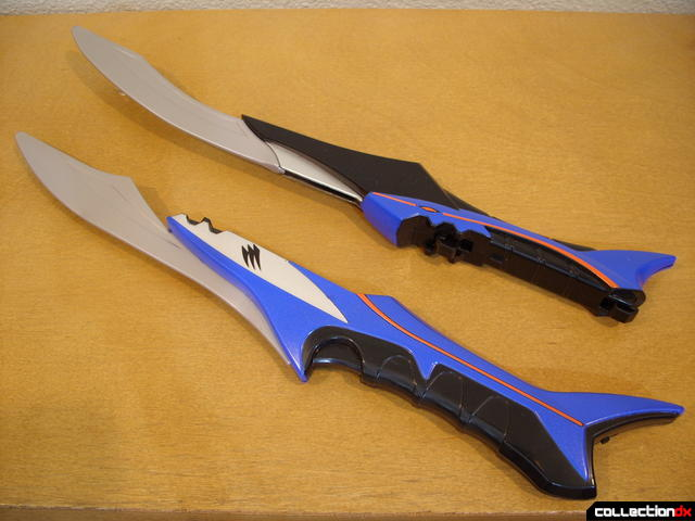 Geki Sabers A (above) and B (below)