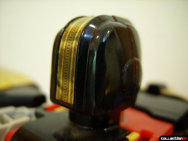 Deluxe Zeo Megazord (basic head, back)