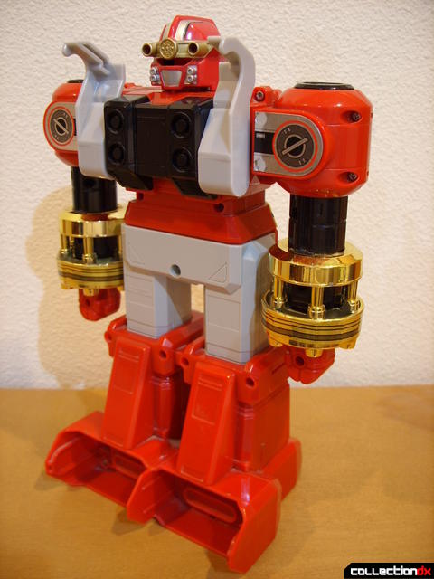 Deluxe Red Battlezord (back)