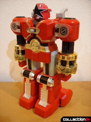 Deluxe Red Battlezord (front)
