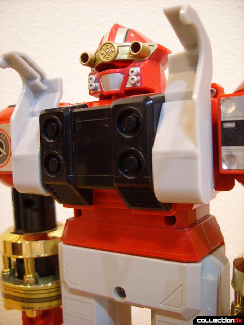 Deluxe Red Battlezord (torso, back)