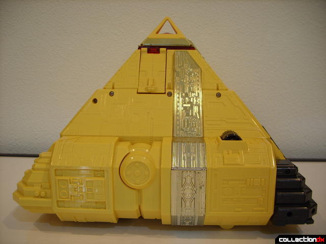 Deluxe Pyramidas The Carrier Zord- Pyramid Mode (right profile)