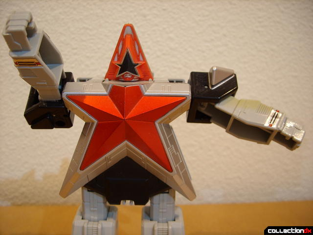 Super Zeo Zord 5 (arm poseability demonstration)