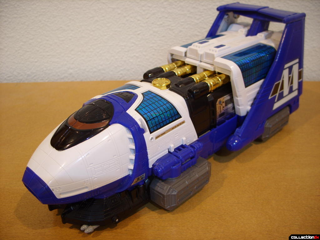 Deluxe Max Solarzord- Train Mode (front)