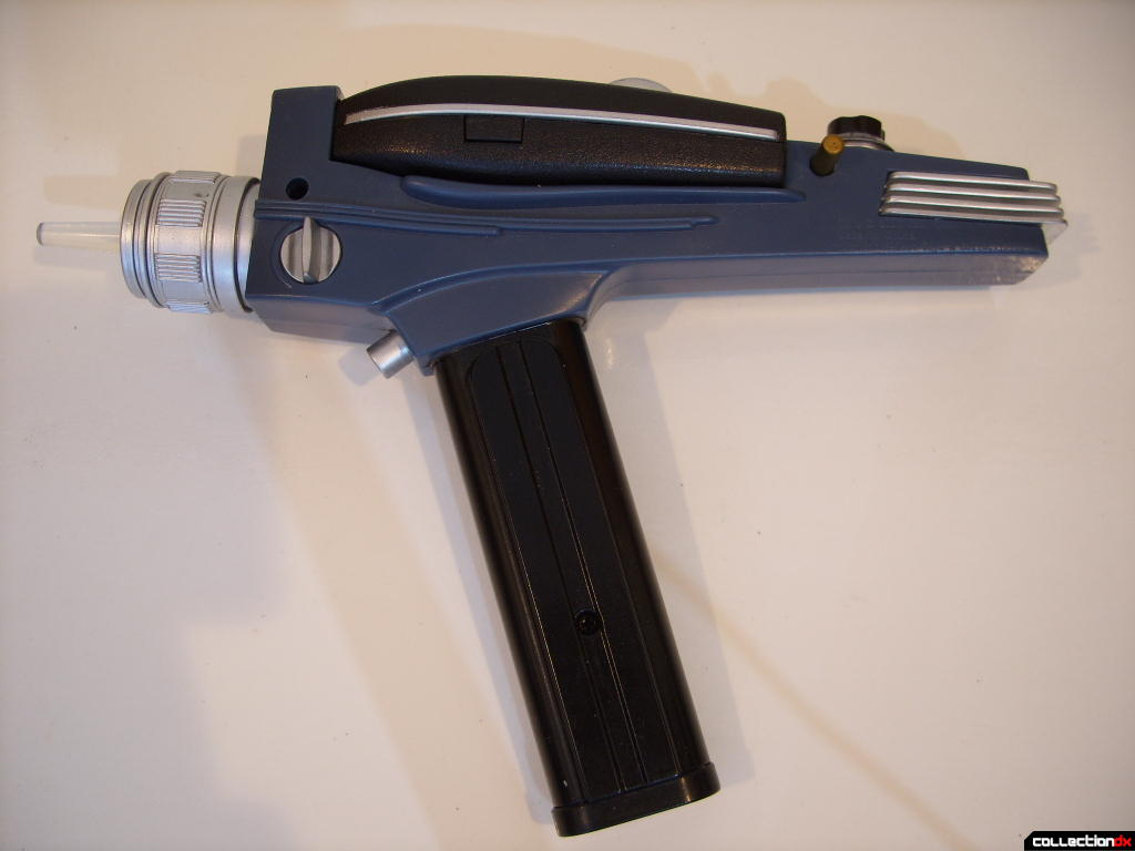 Trek Tek TOS Black Handle Phaser- Type II (left side)