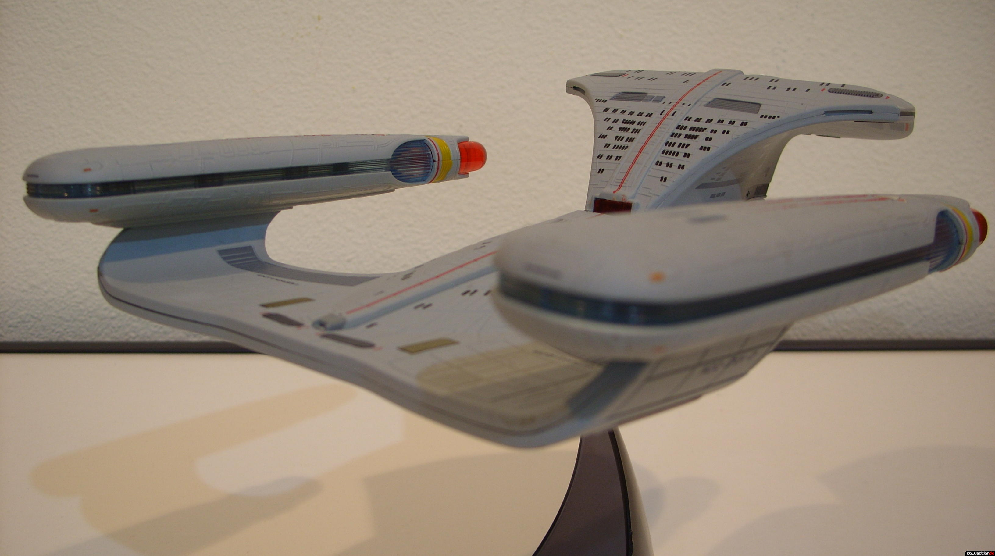Starship Legends U.S.S. Enterprise-D (Battle Section, aft-dorsal)