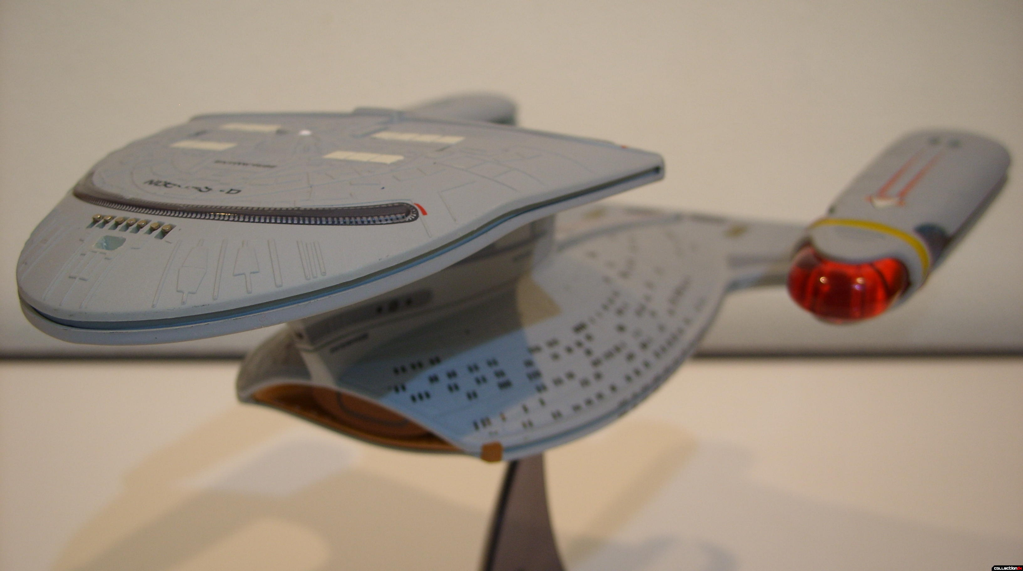Starship Legends U.S.S. Enterprise-D (Battle Section, forward-dorsal)