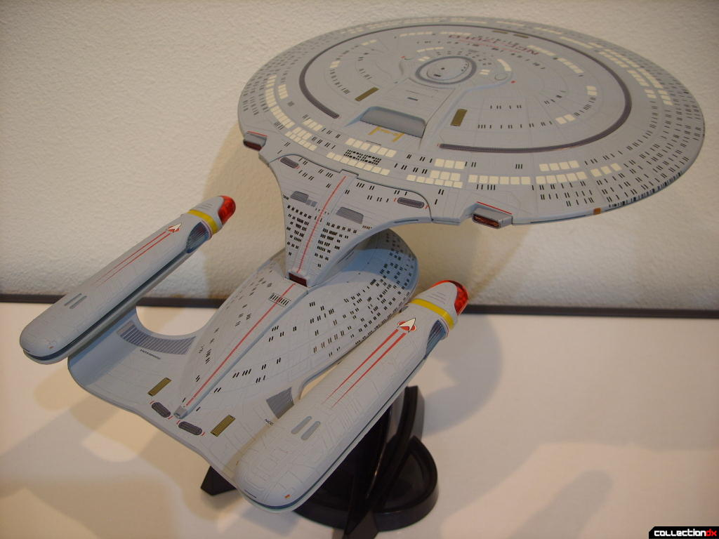 Starship Legends U.S.S. Enterprise-D (dorsal-astern)