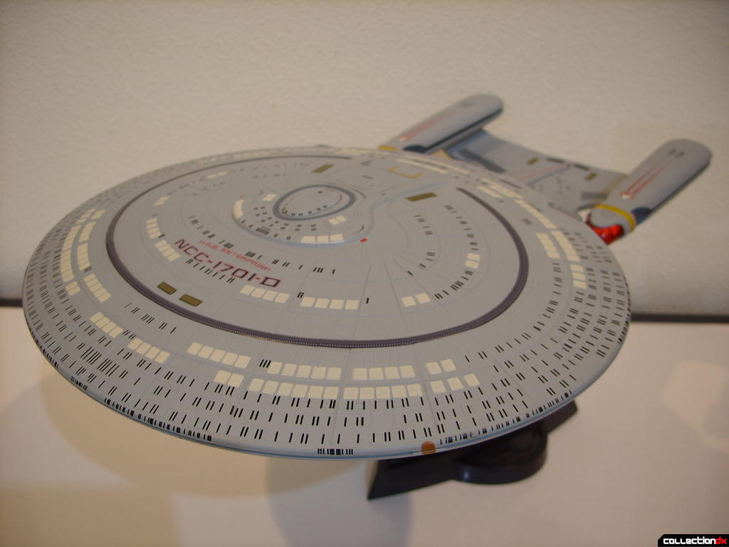 Starship Legends U.S.S. Enterprise-D (dorsal-bow)