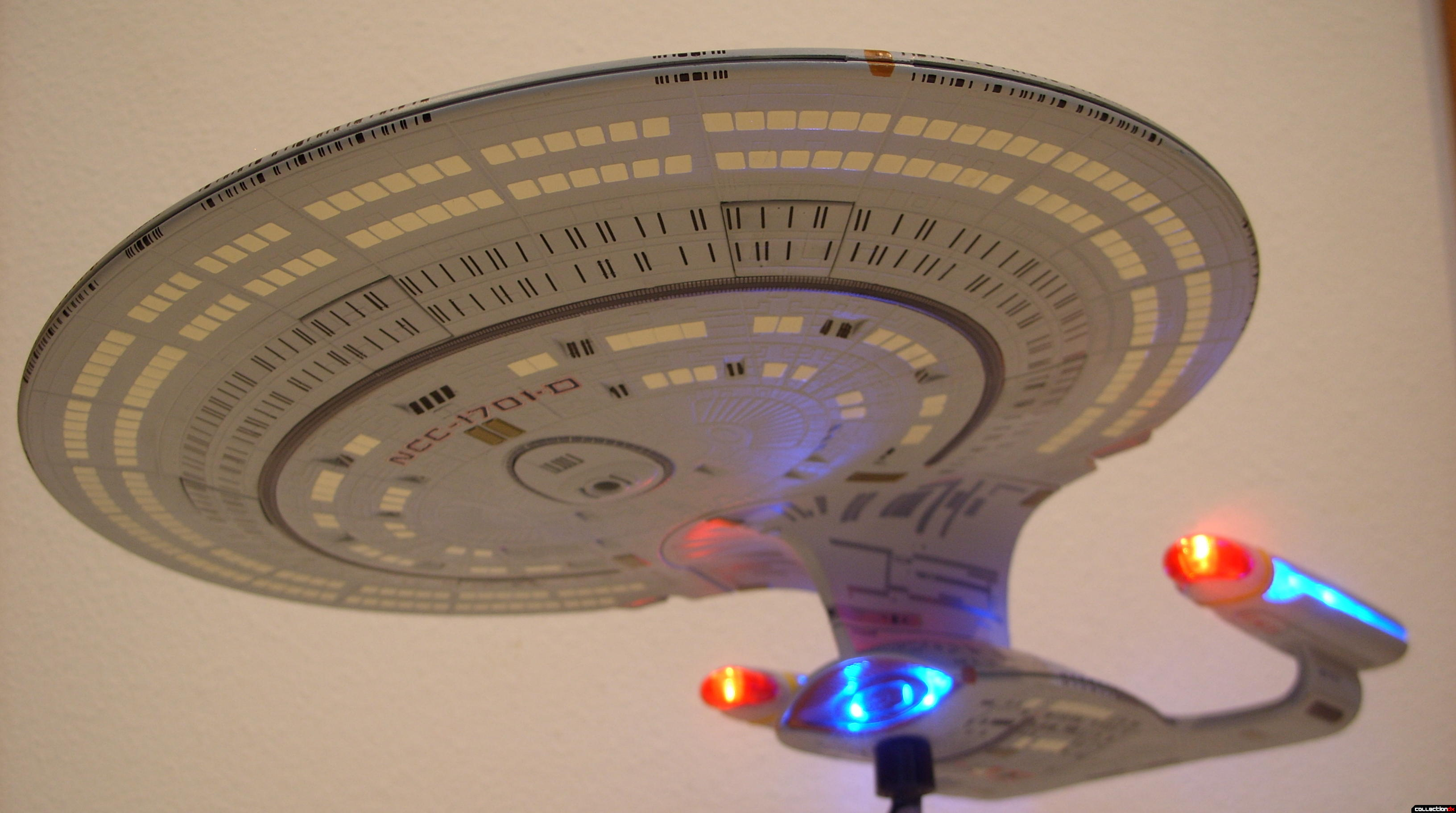 Starship Legends U.S.S. Enterprise-D (dramatic angle, forward-ventral)(2)