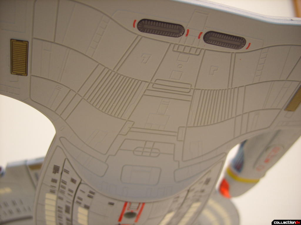Starship Legends U.S.S. Enterprise-D (engineering hull ventral-aft)