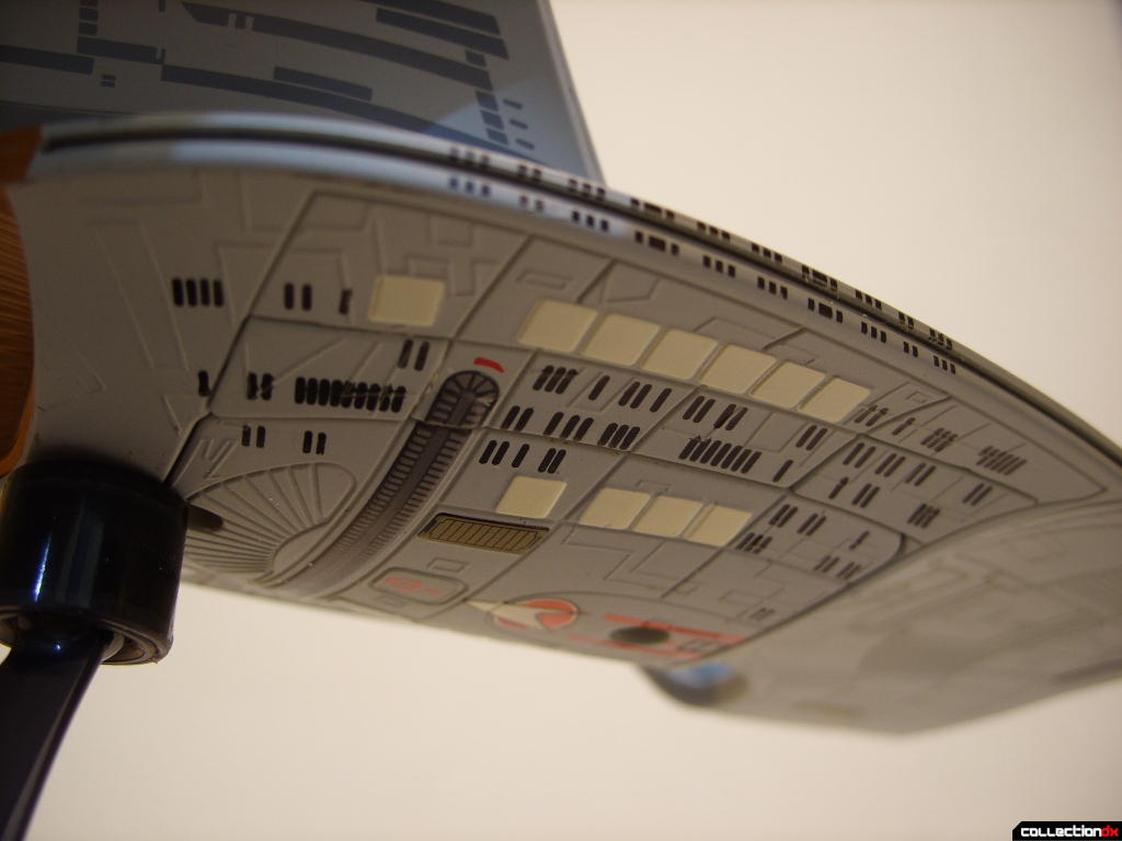 Starship Legends U.S.S. Enterprise-D (engineering hull, ventral angle)