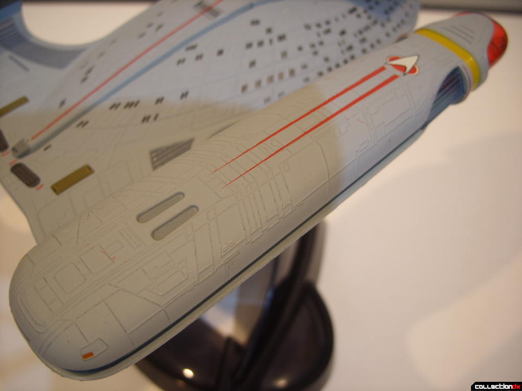 Starship Legends U.S.S. Enterprise-D (starboard warp engine nacelle, aft-dorsal)
