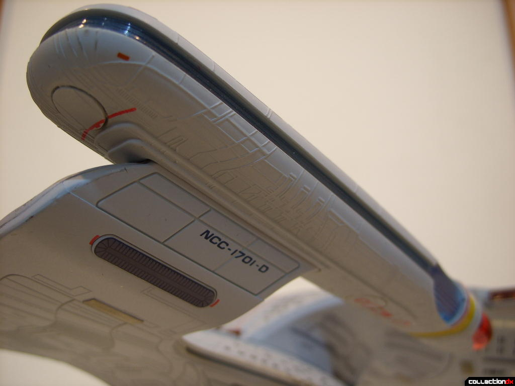 Starship Legends U.S.S. Enterprise-D (starboard warp engine nacelle, aft-ventral)