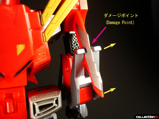 damage point
