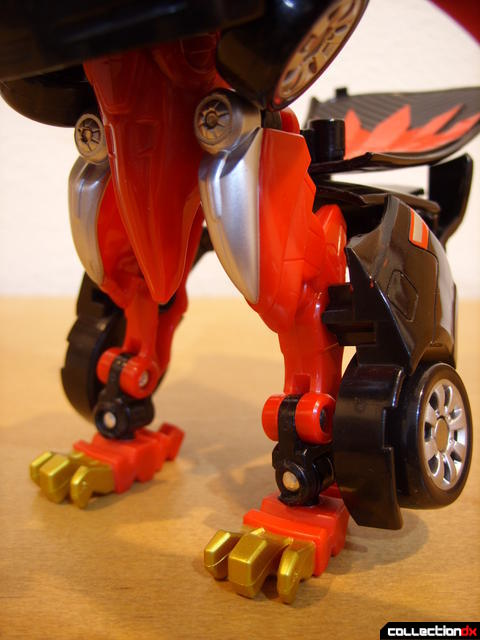 Engine King Eagle Zord- Zord Mode (legs)