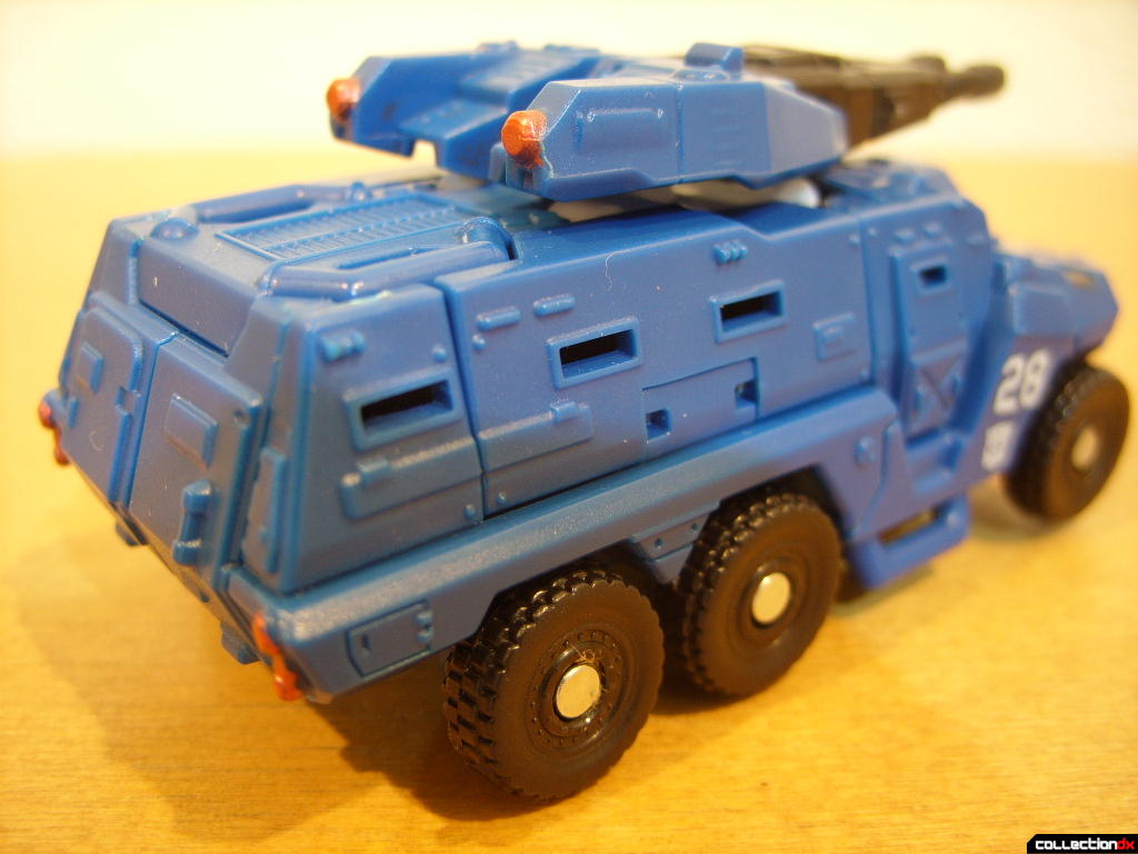 Scout-class Autobot Breacher- Vehicle Mode (back)