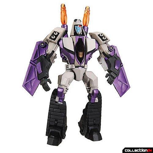 Voyager-class Decepticon Blitzwing (robot mode)
