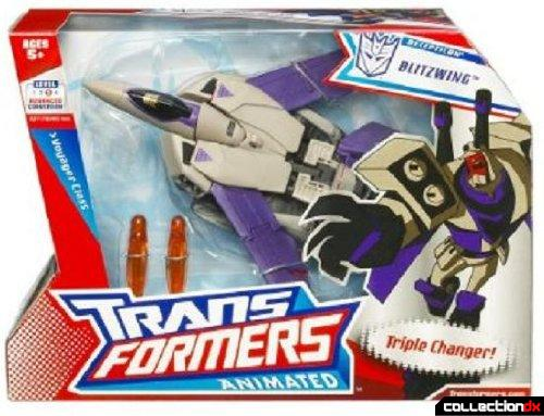 Voyager-class Decepticon Blitzwing (box front)