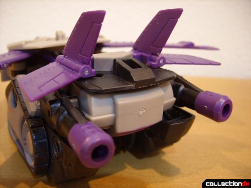 Voyager-class Decepticon Blitzwing- jet mode (back detail)