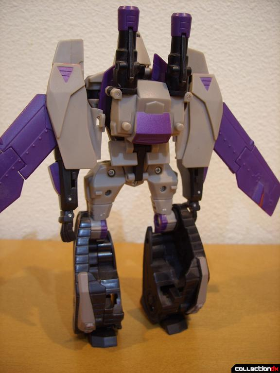 Voyager-class Decepticon Blitzwing- robot mode (back)