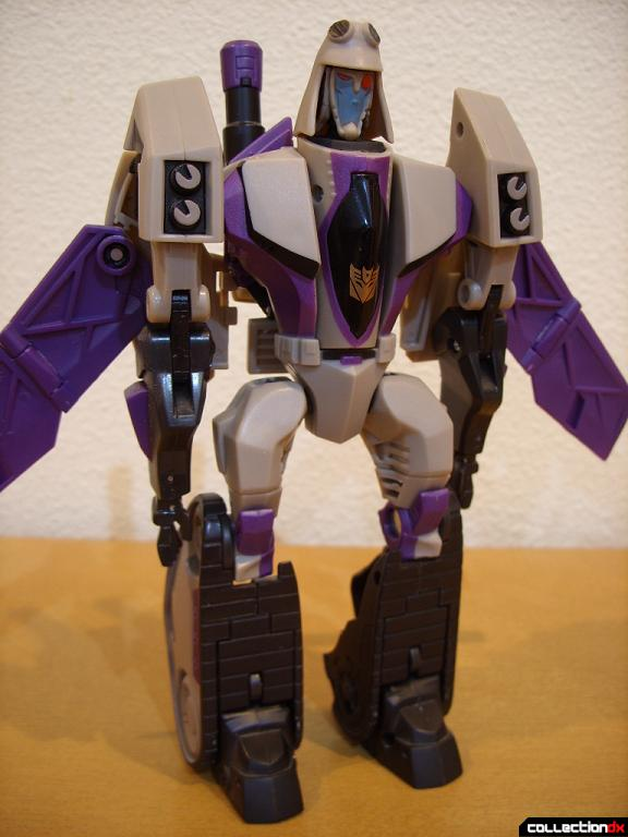 Voyager-class Decepticon Blitzwing- robot mode (front)