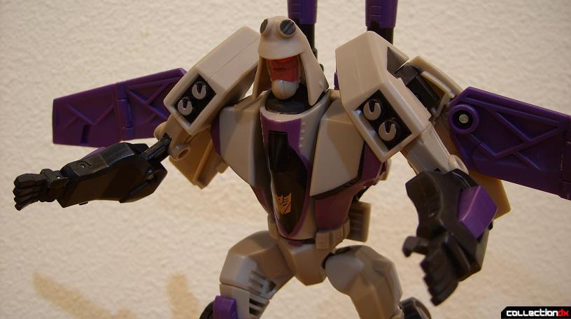 Voyager-class Decepticon Blitzwing- robot mode (Hothead posed)