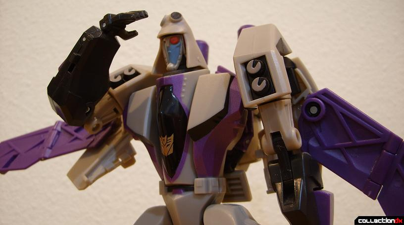 Voyager-class Decepticon Blitzwing- robot mode (Icy posed)