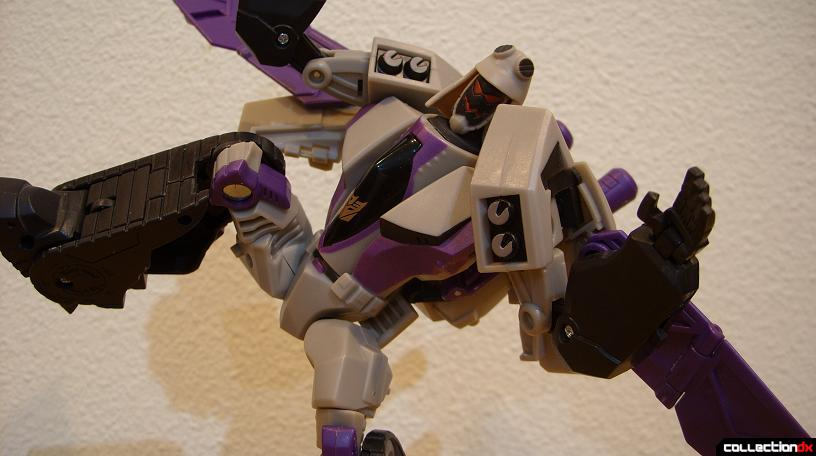 Voyager-class Decepticon Blitzwing- robot mode (Random posed)