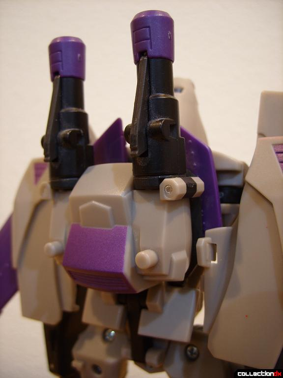 Voyager-class Decepticon Blitzwing- robot mode (torso, back)