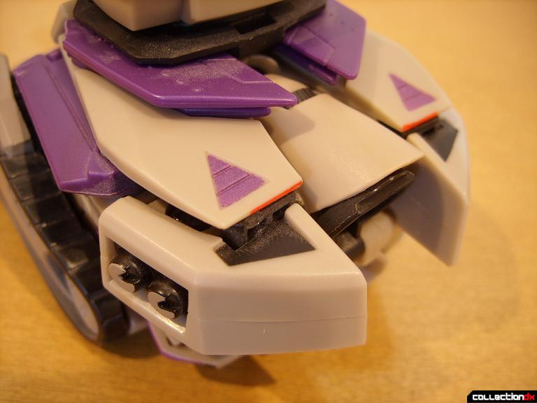 Voyager-class Decepticon Blitzwing- tank mode (back detail)