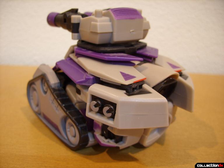 Voyager-class Decepticon Blitzwing- tank mode (back)