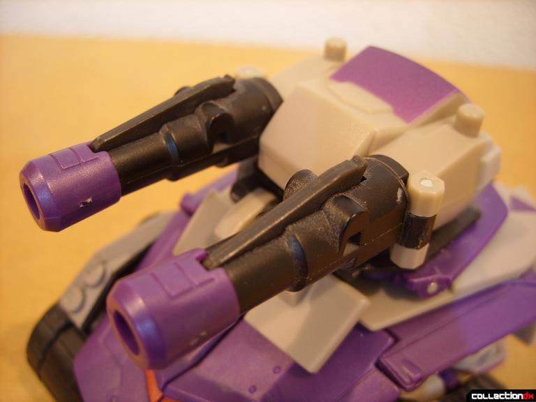 Voyager-class Decepticon Blitzwing- tank mode (turret)