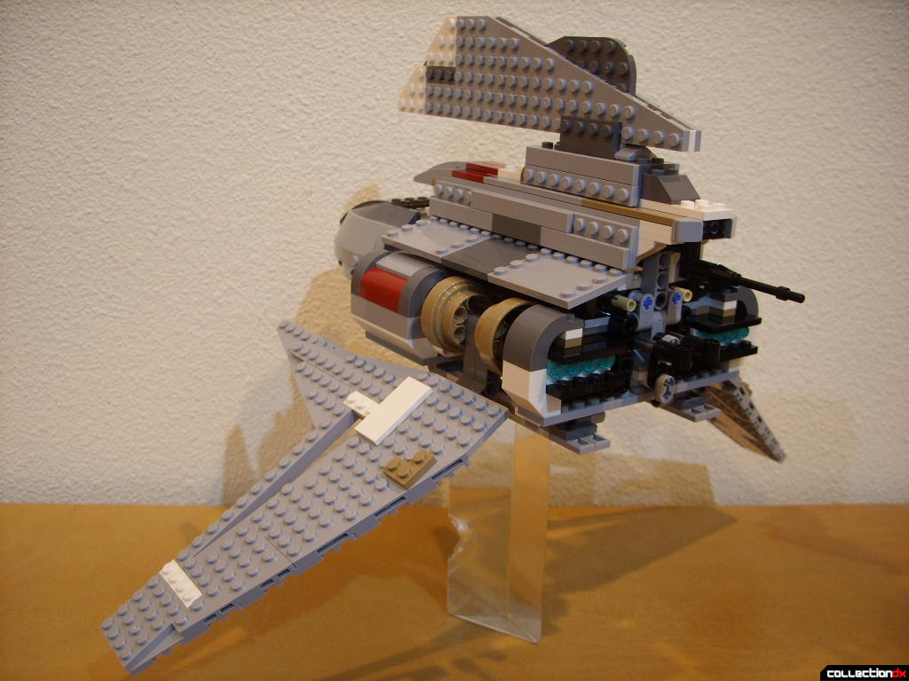 Emperor Palpatine's Shuttle (wings lowered, back)