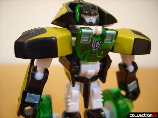 Scout-class Decepticon Ransack GTS- robot mode (torso and arms)