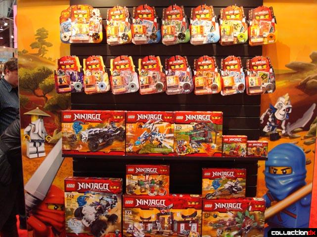 Toy Fair 2011 Lego Ninjago Collectiondx