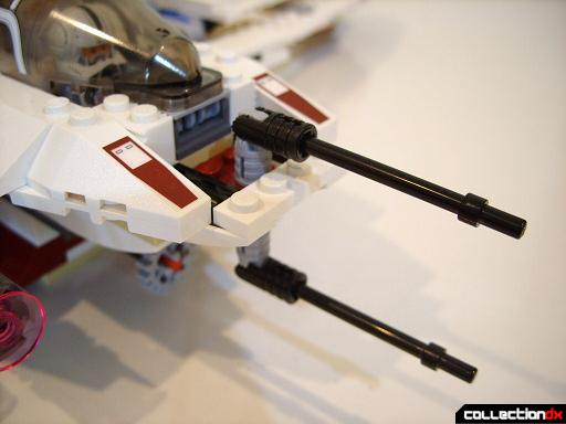 ARC-170 Starfighter (aft laser cannon turrets)