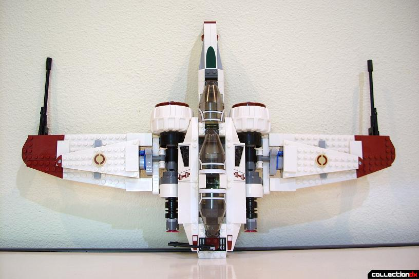ARC-170 Starfighter (dorsal profile)