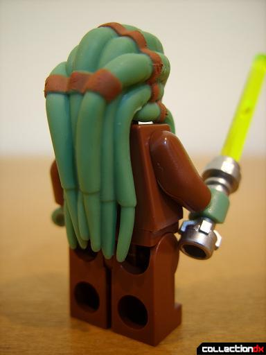 ARC-170 Starfighter minifig - Jedi Master Kit Fisto (back)