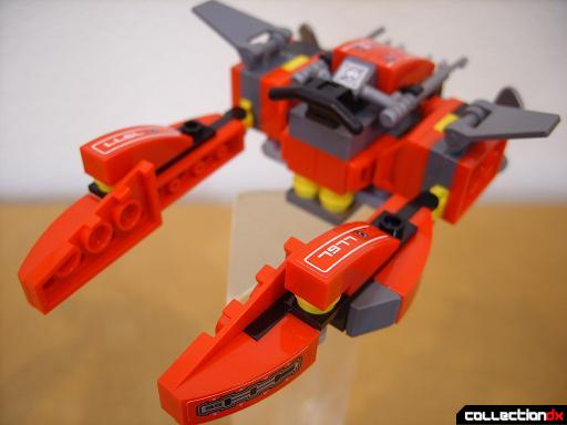Seabed Strider - travel mode (back)