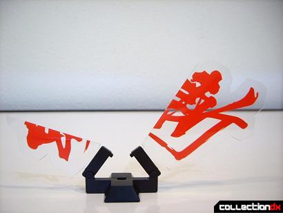 Super Robot Chogokin Shinken-Oh ('slash' kanji display, split open)