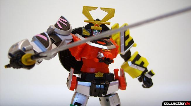 Super Robot Chogokin Shinken-Oh posed (5)