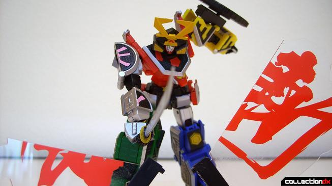 Super Robot Chogokin Shinken-Oh posed (8)