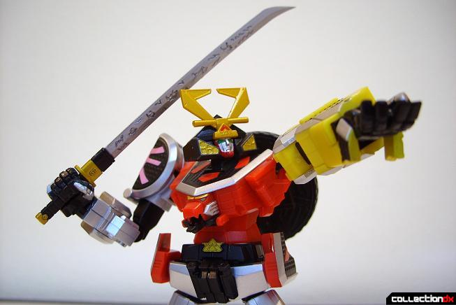 Super Robot Chogokin Shinken-Oh posed (12)