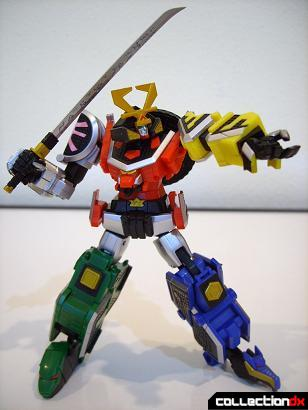 Super Robot Chogokin Shinken-Oh posed (14)