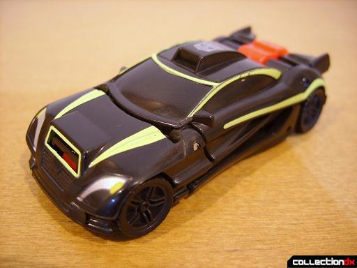Autobot Double Clutch with Rallybots- Street Racer Drone (front)