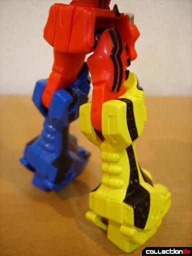 Retrofire Jungle Pride Megazord (legs, back)