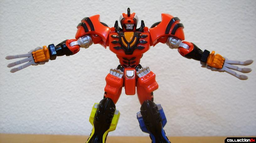 Retrofire Jungle Pride Megazord- Savage Spin attack (1)