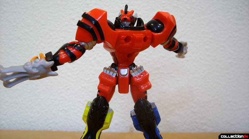 Retrofire Jungle Pride Megazord- Savage Spin attack (4)